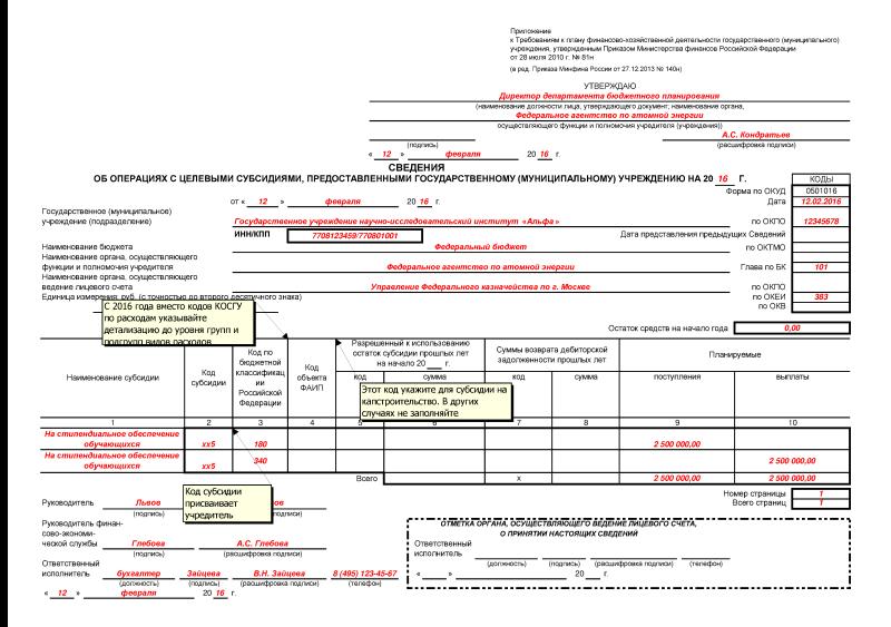 соглашение на субсидии на иные цели образец - фото 6